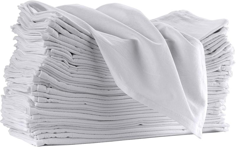 12 pack flour sack towels for kitchen