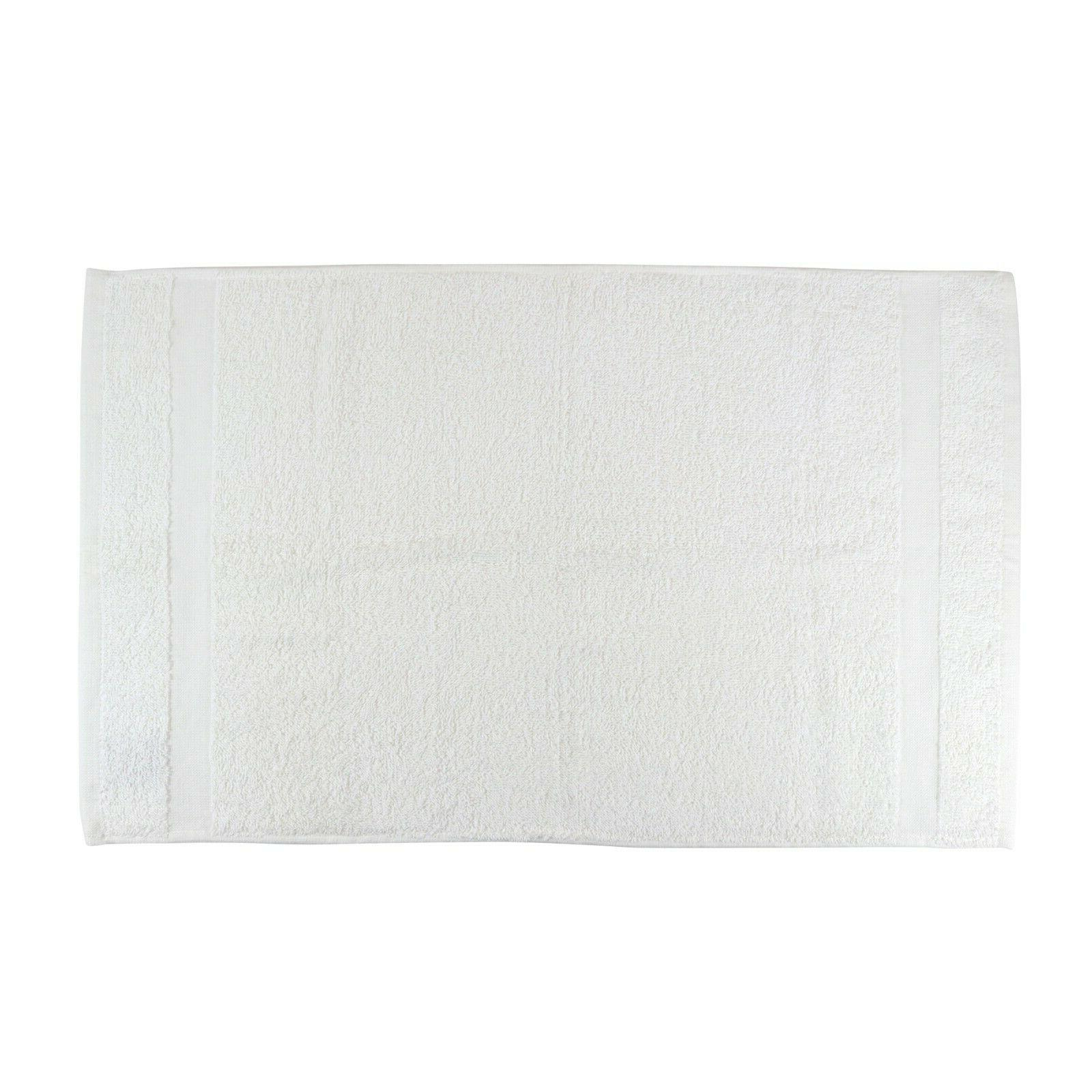 12 Admiral Hand - White - - Bulk Bathroom Towels