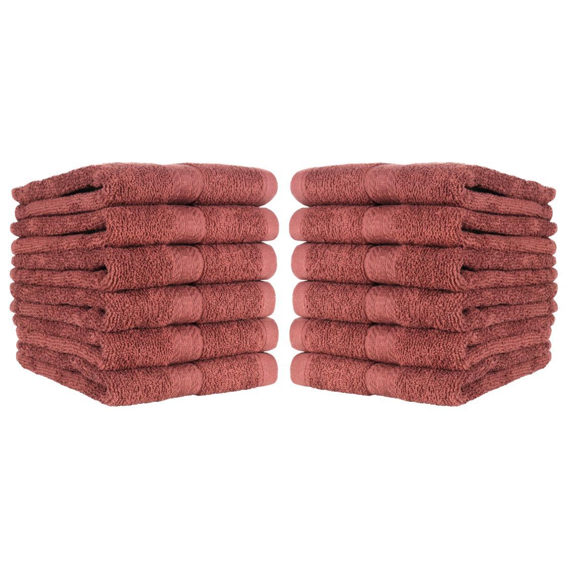 12 of Bathroom Hand Ring-Spun Cotton 16 27