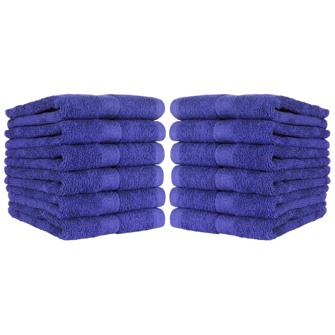 12 Pack of Hand Towels - 100% Ring-Spun x 27 Color