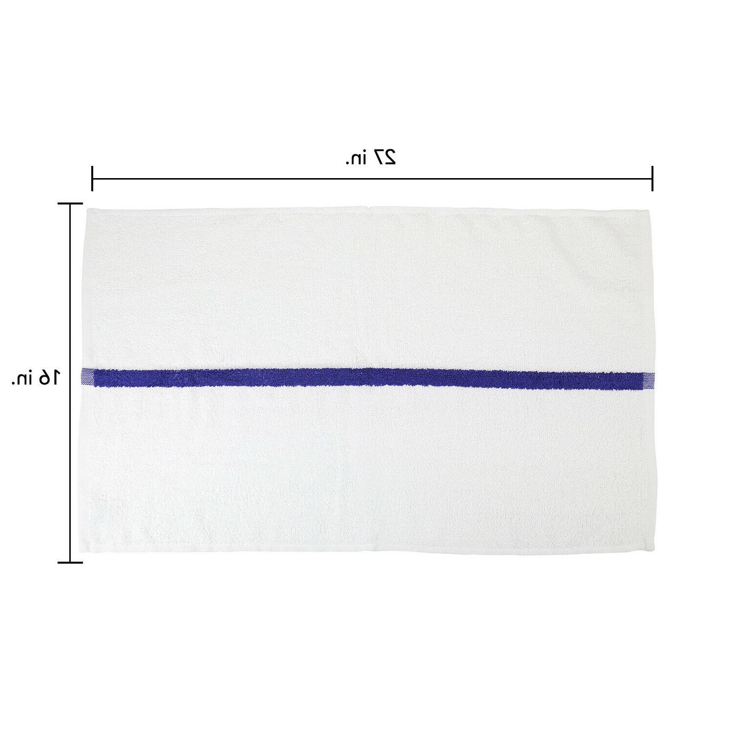 12 Pack Hand x 27 Cotton Workout Towels