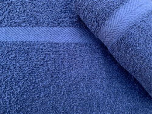 24 new blue salon spa gym towels