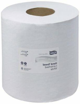 120133 advanced single ply centerfeed hand towels
