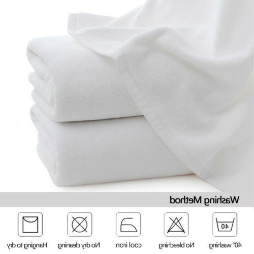 2-12 Pack Cotton Towels Face Sheet Travel