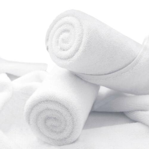 2-12 Pack Cotton Face Sheet Extra Travel Gym