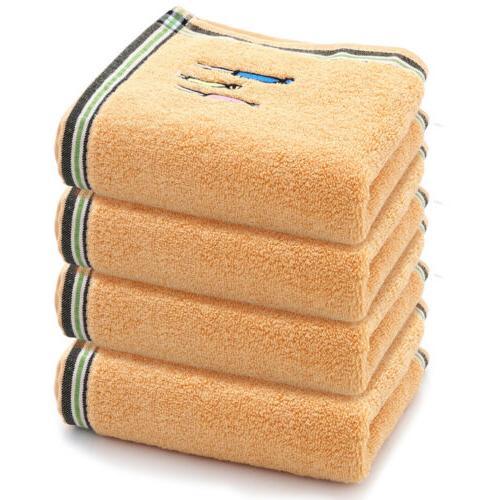 2/4/6pcs Hand Towels Cotton Face Set