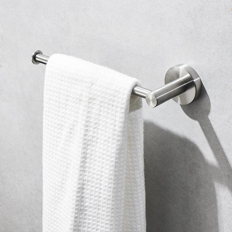 2019 <font><b>Hand</b></font> <font><b>Towel</b></font> Rack Stainless Black Holder Bathroom Accessories