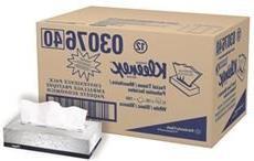 Kimberly-Clark 21606 KLEENEX FACIAL TISSUE, WHITE, 2-PLY, FL