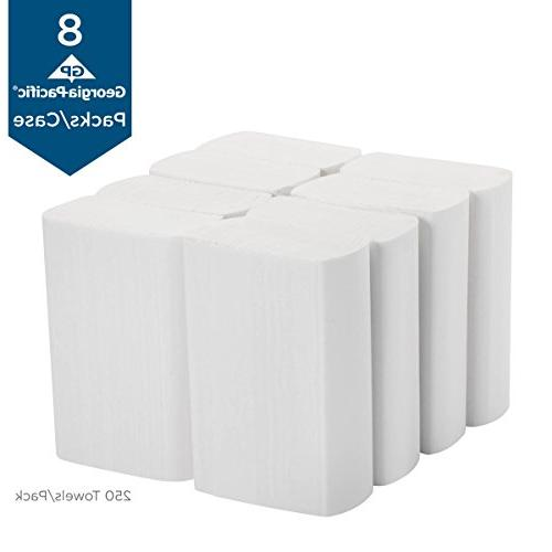 Georgia-Pacific Professional 1-Ply by 2212014, 250 Pack, 8 Packs Per Case