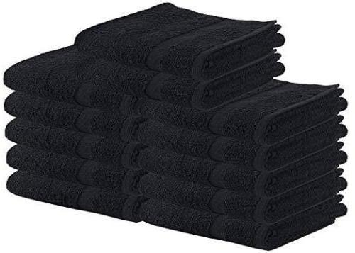 4 Large Hand Towels 16 x 28 Inches Cotton 600 GSM Wholesale Lot Georgia Towels