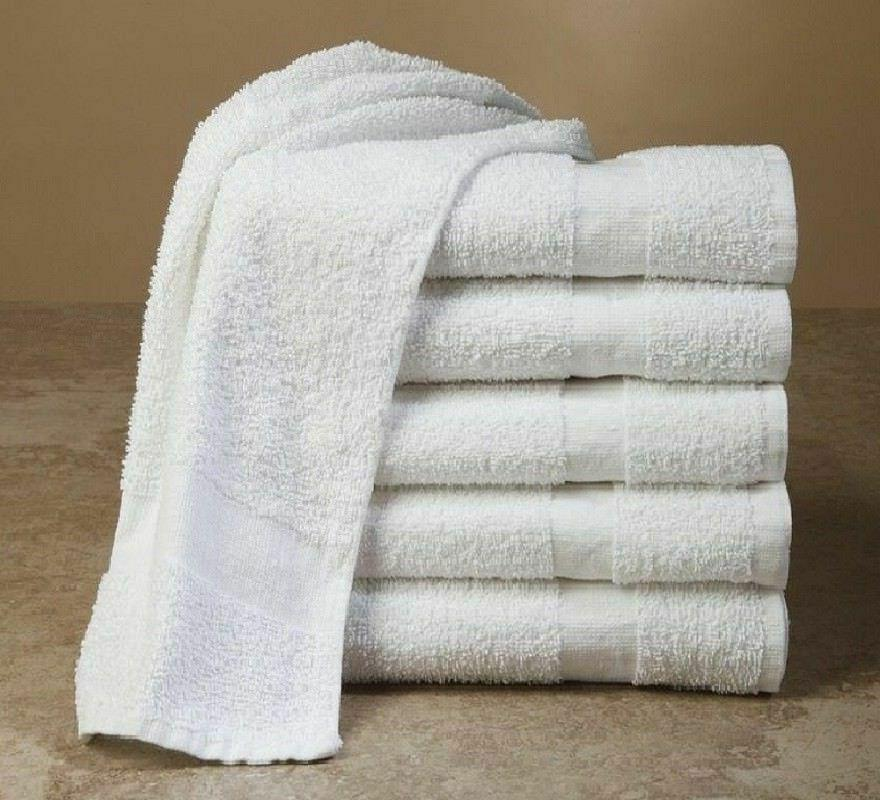 24 HEAVY TOWELS COTTON x BEST DEAL!