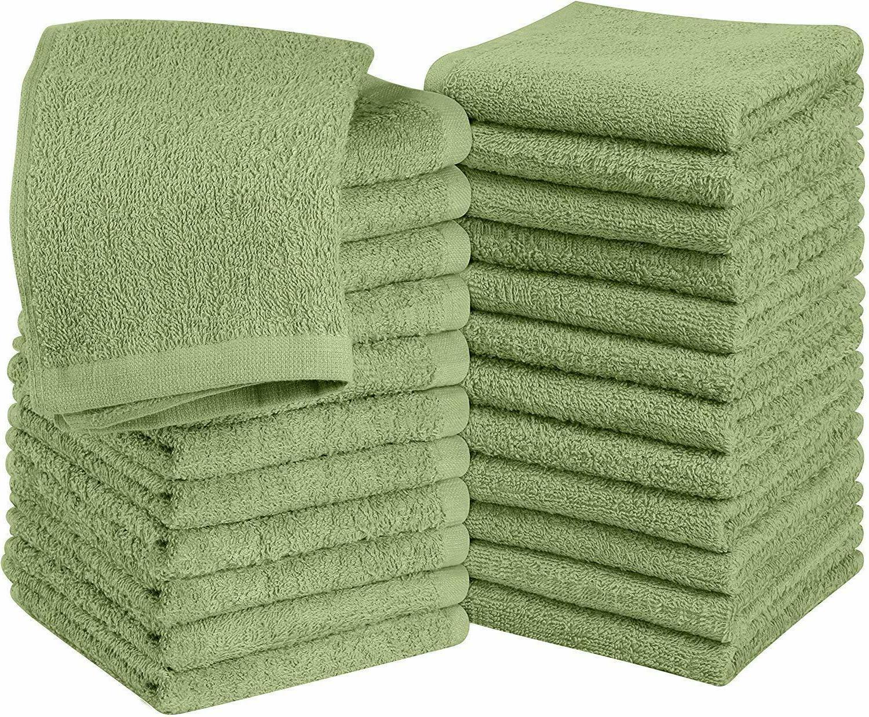 Pack of Cotton Washcloths Finger Towels