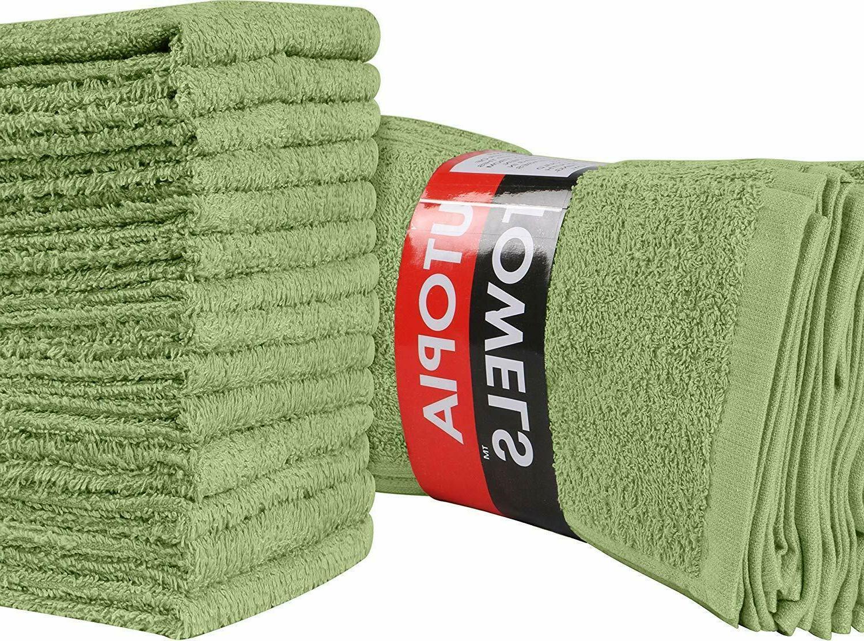 Pack of 24 Washcloths Finger Towels