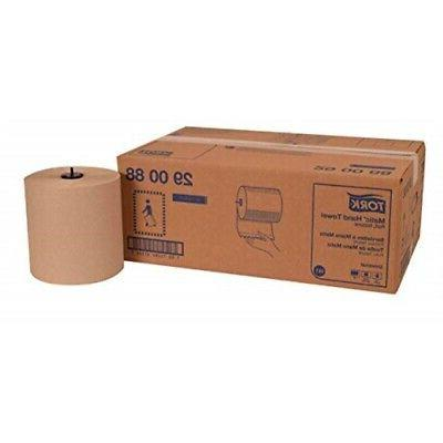 Tork 290088 Universal Single-Ply Hand Roll Natural,