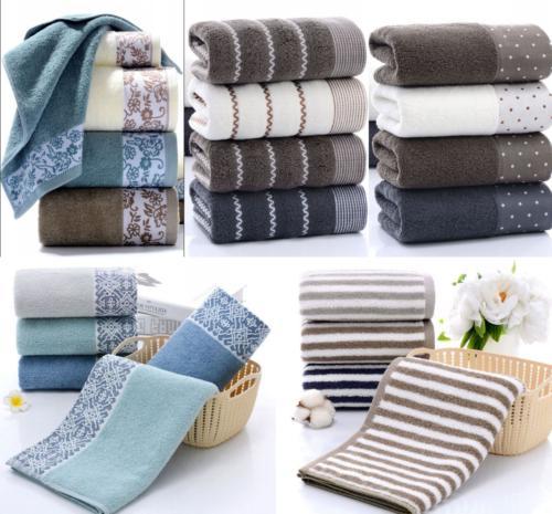 2pcs Towels Fiber Hand Bathroom Home