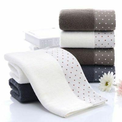 2pcs towels set bamboo fiber face hand