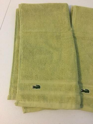 3 lacoste Yellow/green 16x30. Quality