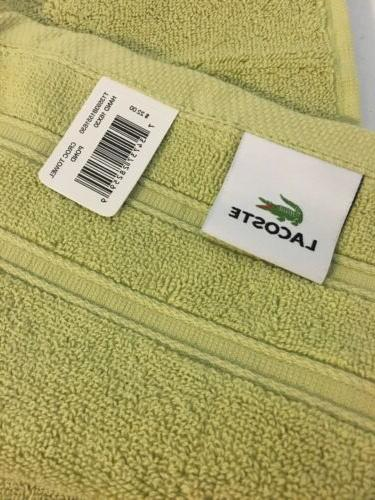 3 hand Yellow/green 100% 16x30. Quality