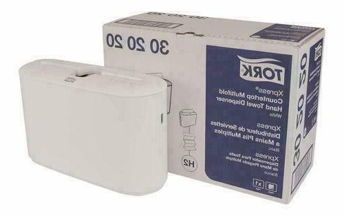 302020 xpress countertop hand towel dispenser plastic
