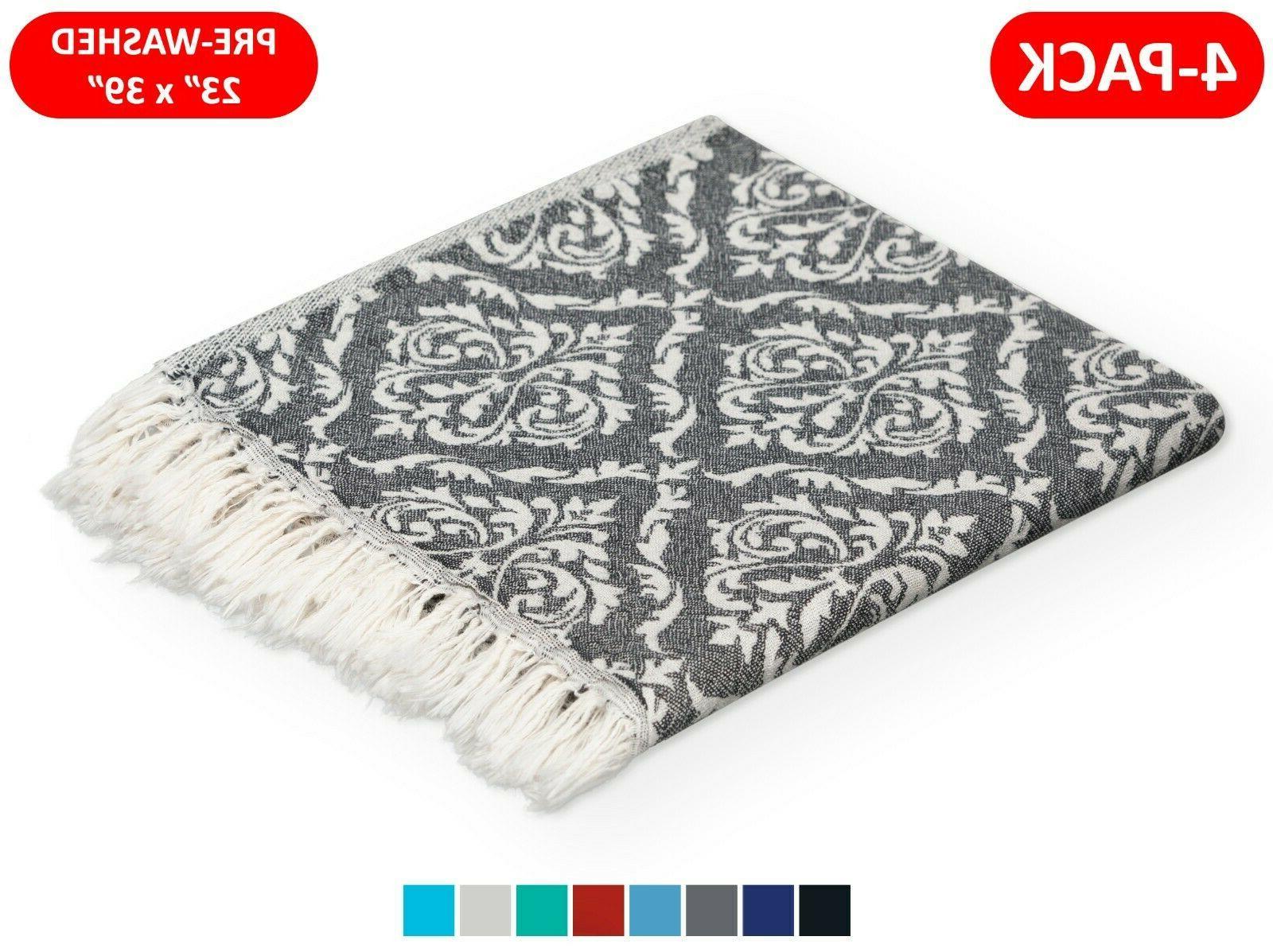 100% TURKISH COTTON HAND TOWELS 23x39 FACE HAIR BATH GUEST