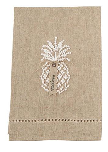 4405182t linen oatmeal pineapple hand