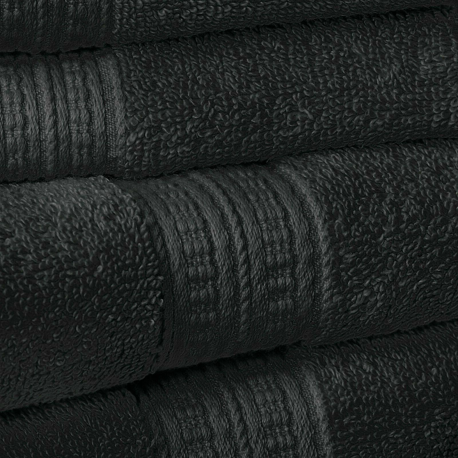 """5 pc Cotton Towel Set, Sheet 35""""x68"""", 2"""