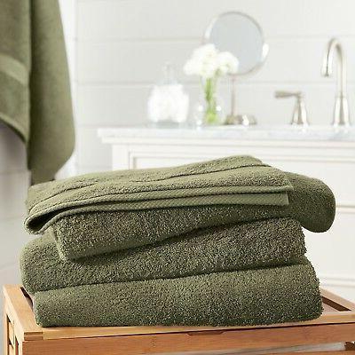6 Piece Towel Set 100% 600 Colors Luxurious