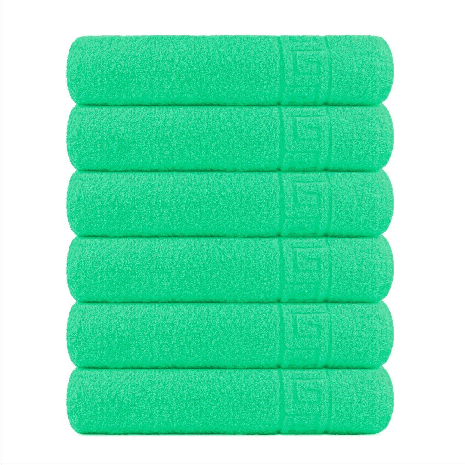 6 Pieces 6 pcc for Bathroom - cotton - Luxury