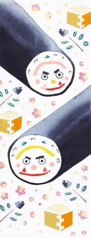 "Japanese Traditional Hand Towel ""TENUGUI"" 90x33cm Made in JA"