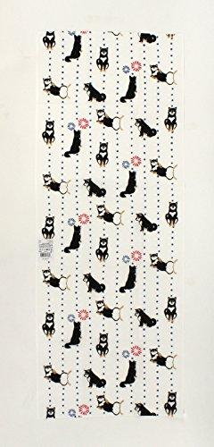 "Japanese Traditional Hand Towel ""TENUGUI"" 90x35cm Made in JA"