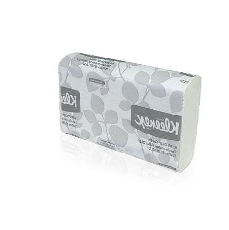KIMBERLY CLARK CONSUMER KLEENEX SLIMFOLD Hand Towels, White,