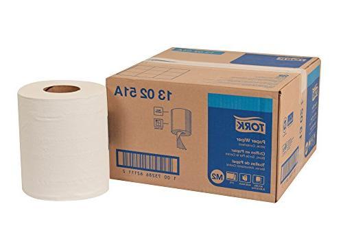 "Tork 130251A Paper Wiper, Centerfeed, 2-Ply, 9.00"" Width x 4"