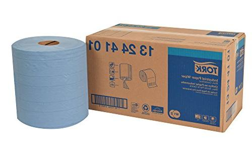 Tork 13244101 Industrial Paper Wiper, Centerfeed, 4-Ply, 11.