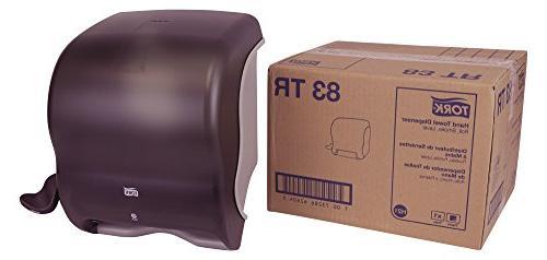 "Tork 83TR Hand Towel Roll Dispenser, Lever, Plastic, 12.82"""