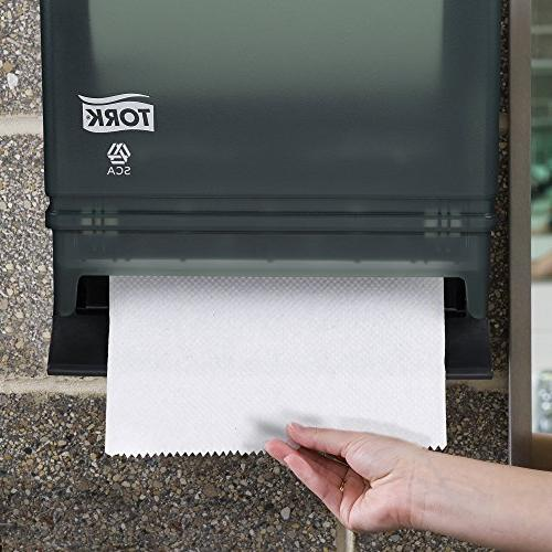 "Tork Hand Roll Dispenser, Auto Transfer, w/Steel Back, 15.75"" x 10.5"" Width Tork RB800,"