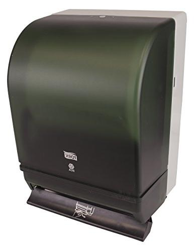 """Tork Hand Roll Dispenser, Push Auto Plastic Door w/Steel x 10.5"""" Width 8.75"""" for Tork RK1000"""