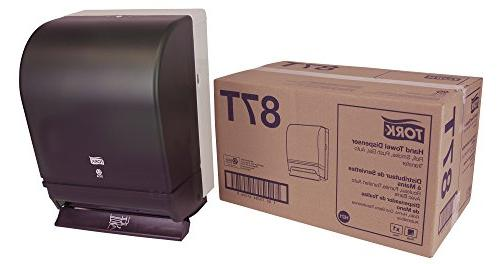 Tork 87T Hand Towel Roll Dispenser, Push Bar, Auto Transfer,