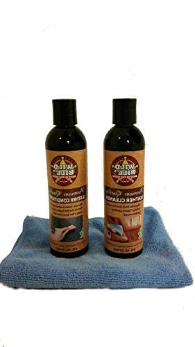 Wild Bill's Leather Cleaner & Wild Bill's Leather Conditione