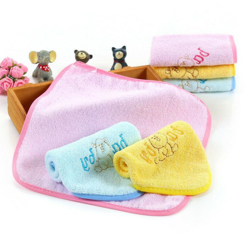 Baby Absorbent Washcloth Children Towel Hand