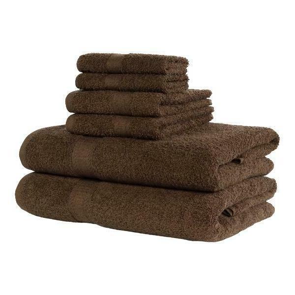 Mainstays Basic Bath Collection - Piece Set, Brown