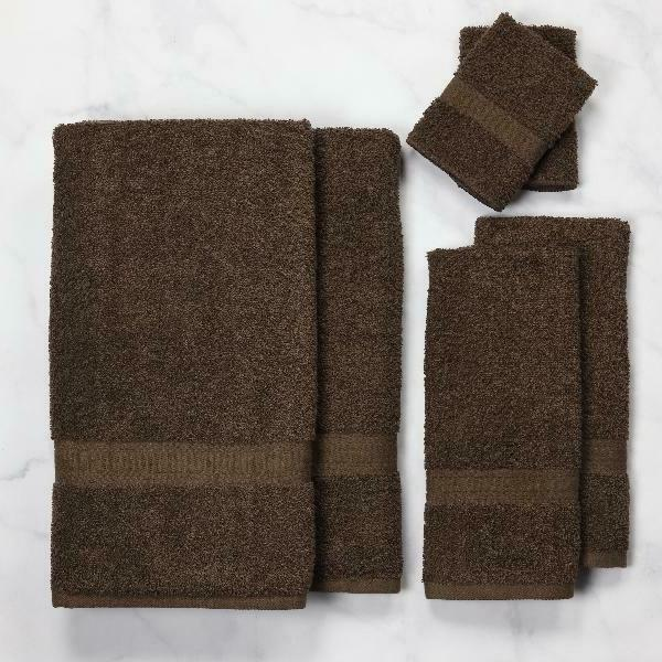 Mainstays Bath Collection - Set, Brown