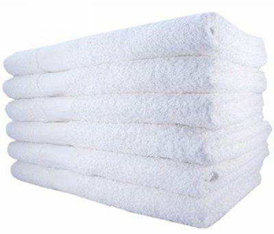 basic white hand towels cotton 16 x