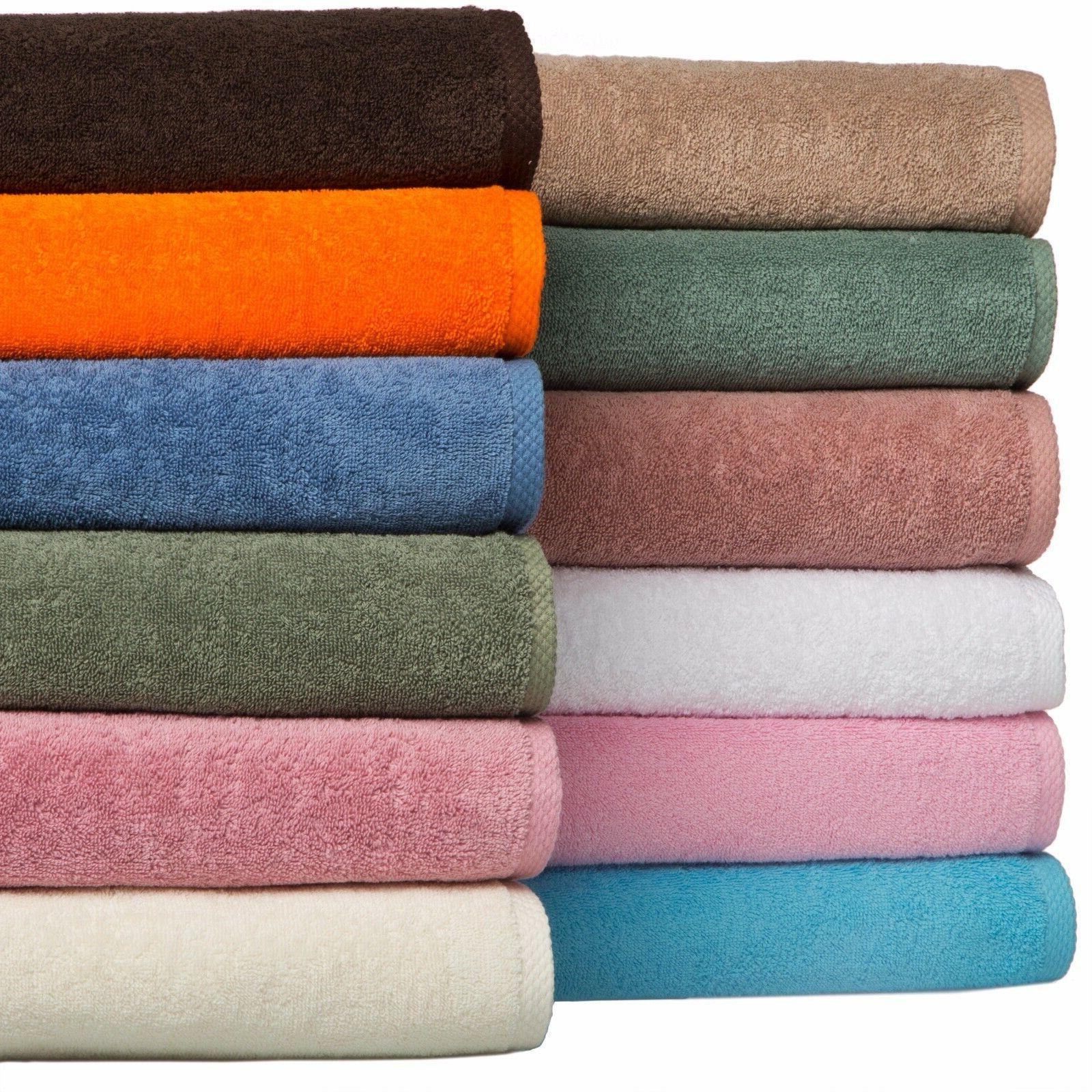 Bath & Towel Set Turkish Cotton Towels 8 Premium Quick Dry