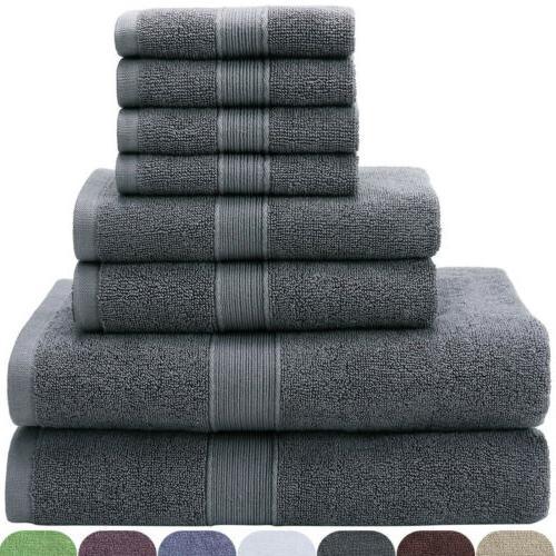Bath Towel Set Towels Hotel Spa Quality Soft Absorbent