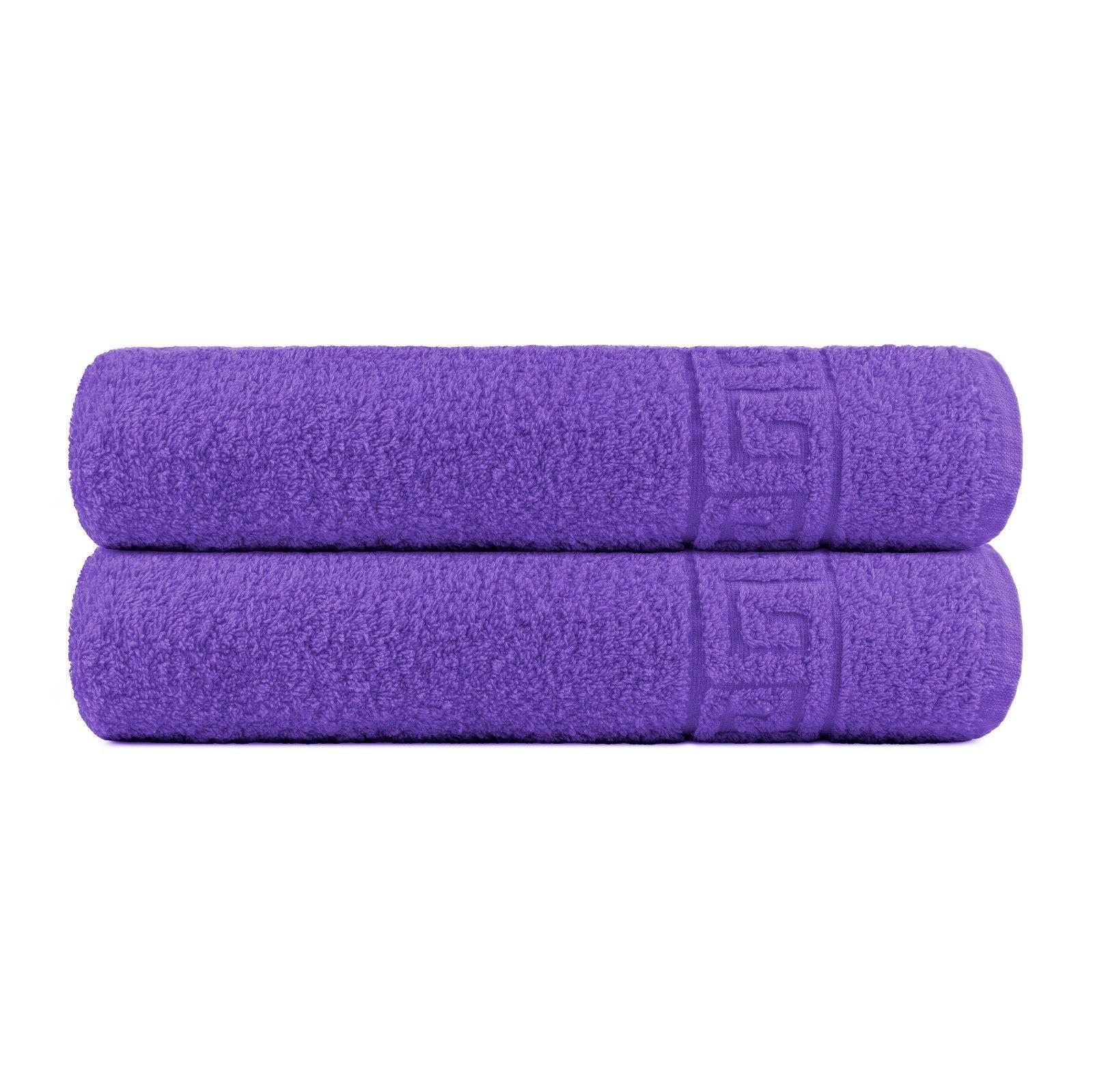 Bath 2 Towels Spa Cotton