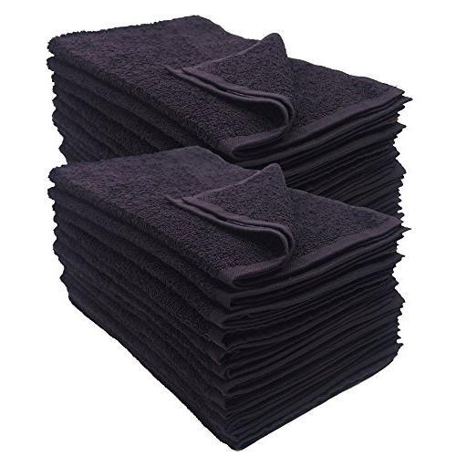 ghp black soft absorbent cotton