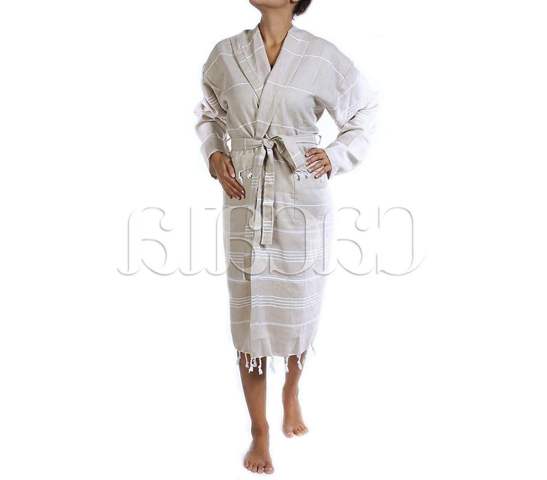 Cacala Bathrobe Fabric 100% Kimono