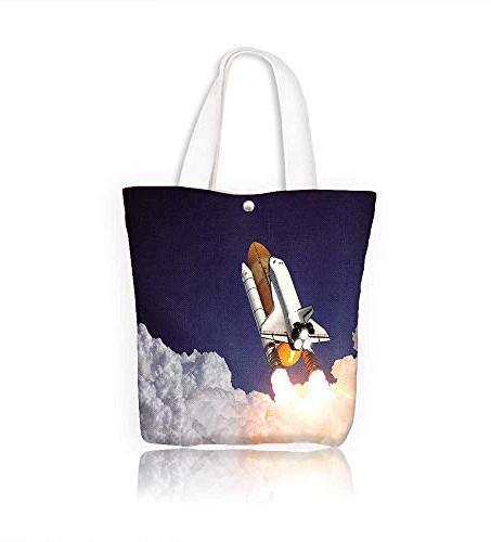 canvas tote handbag shuttle launch