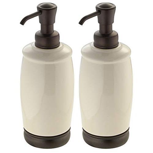 ceramic liquid soap dispenser pump