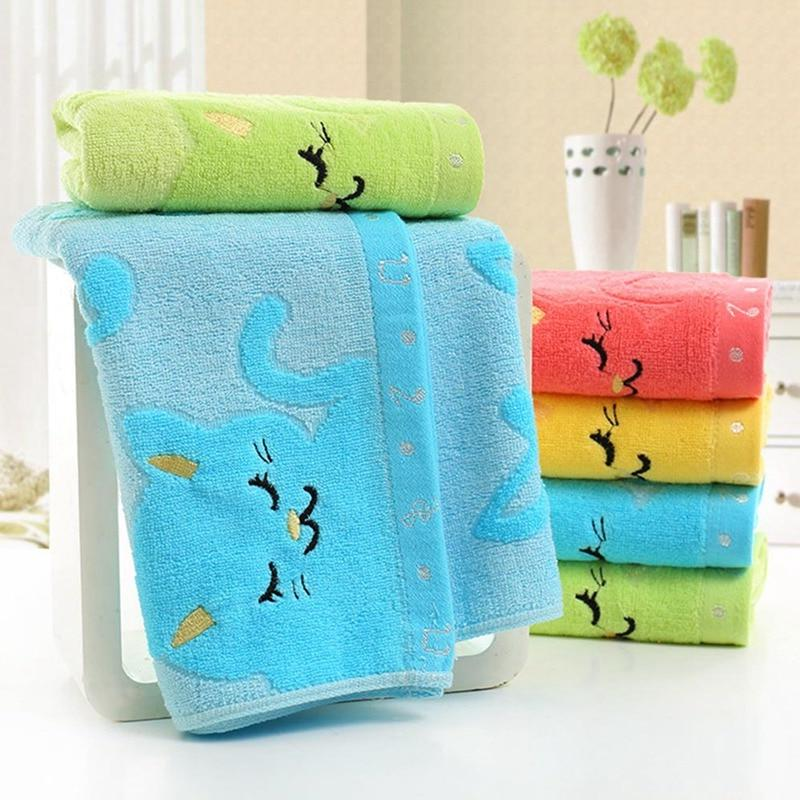 children jacquard embroidered washcloth font b bathing